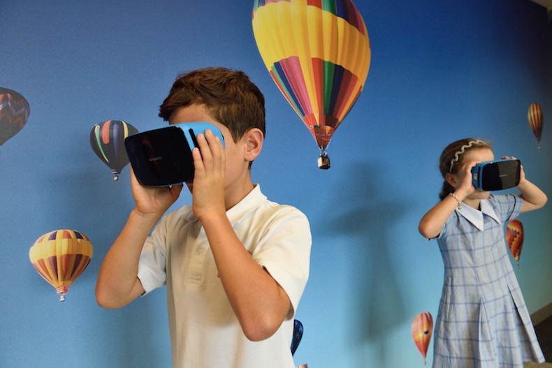 Children in Virtual Reality