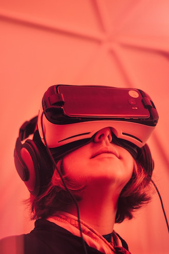 Virtual Reality - Image care of Samuel Zellar, via Unsplash.