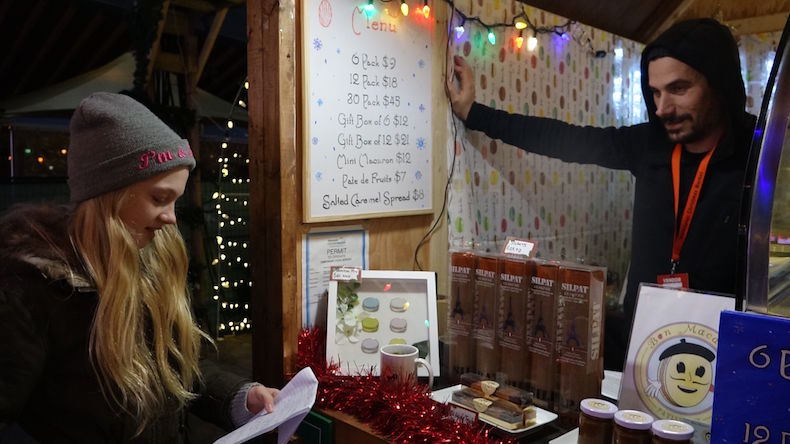 French Assignment adapted to the Christmas Market